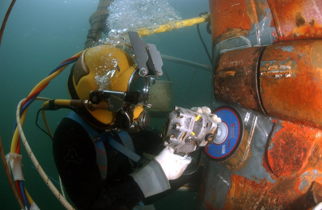 Released By: Navy Diver(Master Diver) Tony Sheperd, South West Region Maintenance Center(SWRMC) Dive Locker, Naval Base San Dieg